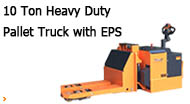 10 Ton Heavy Duty Pallet Truck with EPS